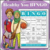 Healthy You BINGO (self-care, mindfulness, hygiene and healthy habits)