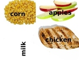 Healthy and Unhealthy Food Bulletin Board