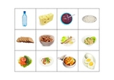 Healthy and Unhealthy Food - Matching Game