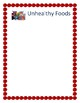 Healthy and Unhealthy Food Sorting Activity