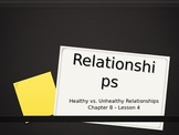 Healthy and Unhealthy Relationships