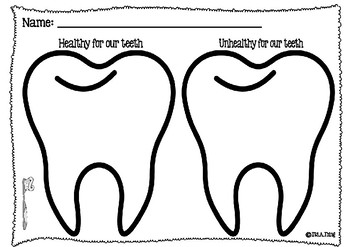 Healthy and Unhealthy for your teeth