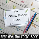 Free Downloads - Healthy foods coloring booklet