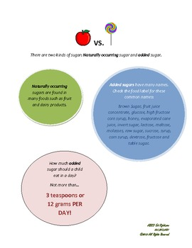 Healthy handouts for home. Parents need help with healthy habits too!