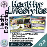 Healthy lifestyles PowerPoint Quiz Lesson. Health Education