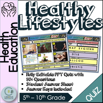 Health Quiz Ppt