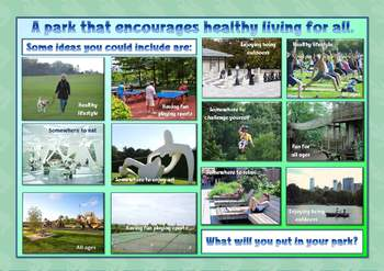 Healthy living - Design a park (complete lesson)