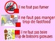 Healthy living / Healthy lifestyle / Advice on being healthy / Using il faut