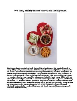 Healthy nutrition snack ideas