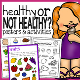 Healthy Foods Posters, Worksheets, and Activities