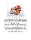 Healthy snack find for healthy habits