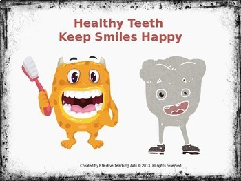 Healthy teeth lesson