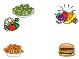 Healthy vs. Non-Healthy Foods