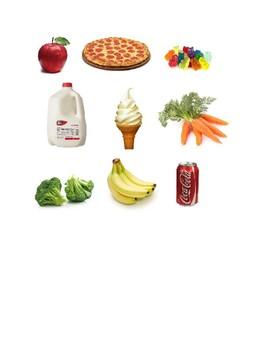 Healthy vs. Unhealthy Food Sort