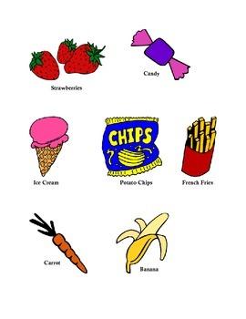 Healthy vs. Unhealthy Food pictures