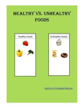 Healthy vs. Unhealthy Foods
