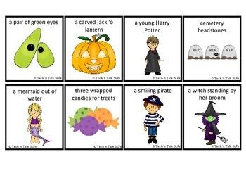 Hear it!   See it!   Say It!   Halloween Seek and Find