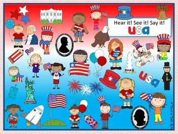 Hear it!   See it!   Say It!   USA