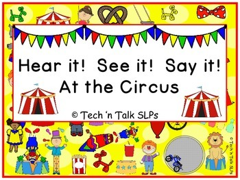 Hear it! See it ! Say it!  At the Circus