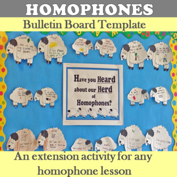 Heard about our Herd of Homophones Bulletin Board