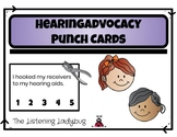 Hearing Advocacy Punch Cards