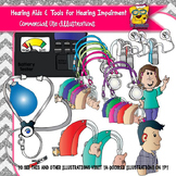 Hearing Aids and Tools for Hearing Impairments Clipart