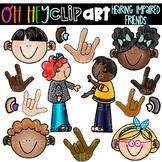 Hearing Impaired Clip Art (Oh Hey ELA Art)
