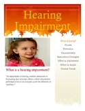 Hearing Impairment Brochure for Parents and Teachers
