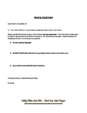 Hearing Impairment / Deficit Parent Letter PDF