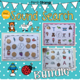 Hearing Initial Sounds- Search and Cover A-Z