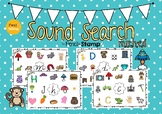 Hearing Initial Sounds- Search and Cover - MRCHED