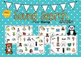Hearing Initial Sounds- Search and Cover - SATPIN