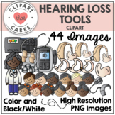 Hearing Loss Tools Clipart by Clipart That Cares
