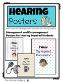 Hearing Posters: Management and Encouragement for Hearing