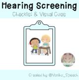 Hearing Screening - Visual Checklist & Cue Cards