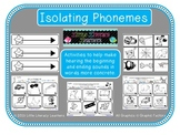 Isolating Phonemes-Beginning and Ending Sounds
