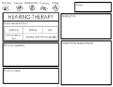 Hearing Therapy Communication page