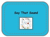 Hearing and Blending Sounds
