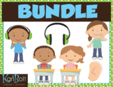 Hearing and Listening Clip Art Bundle