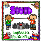 Hearing and Sound Lapbook (grade 3 curriculum aligned)
