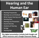 Hearing and the Human Ear - Physics and Biology Lesson Package