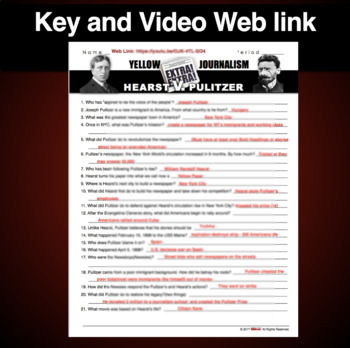 Hearst v. Pulitzer: Battle for the Modern Newspaper Video/Video Guide