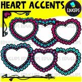 Heart Accents Clip Art Mini Bundle {Educlips Clipart}