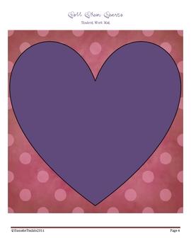 Heart Addition Math Center