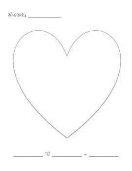 Heart Addition Math Mat