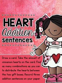 Heart Addition Sentences