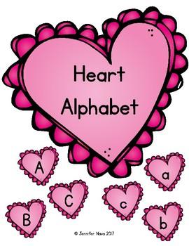 Heart Alphabet