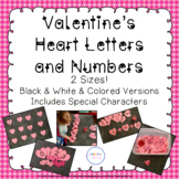 Heart Alphabet & Number Cards