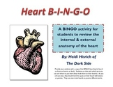 Heart Anatomy BINGO