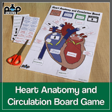 Heart Anatomy and Circulation Board Game